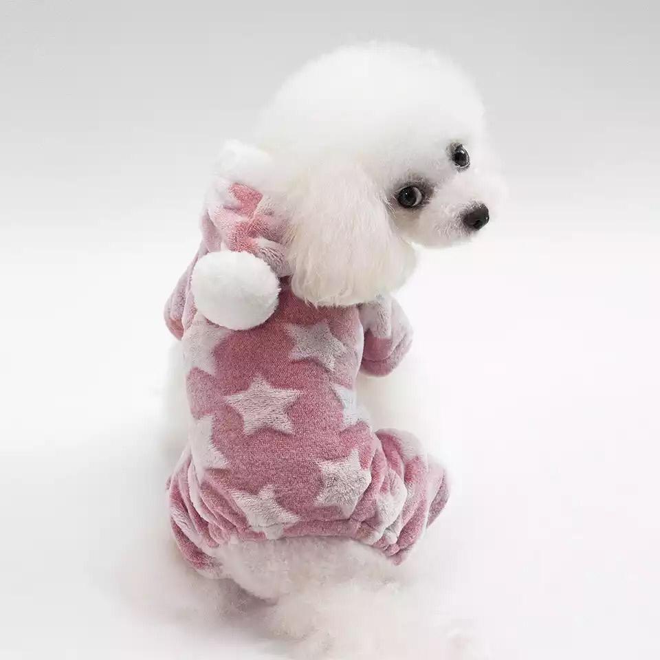 Одежда для собак Arnydog.ru Комбинезон Звездочка розовый YP-201807039_M, розовый
