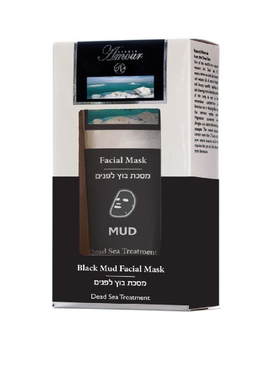 Грязевая маска для лица Black Mud Facial Mask 100 мл