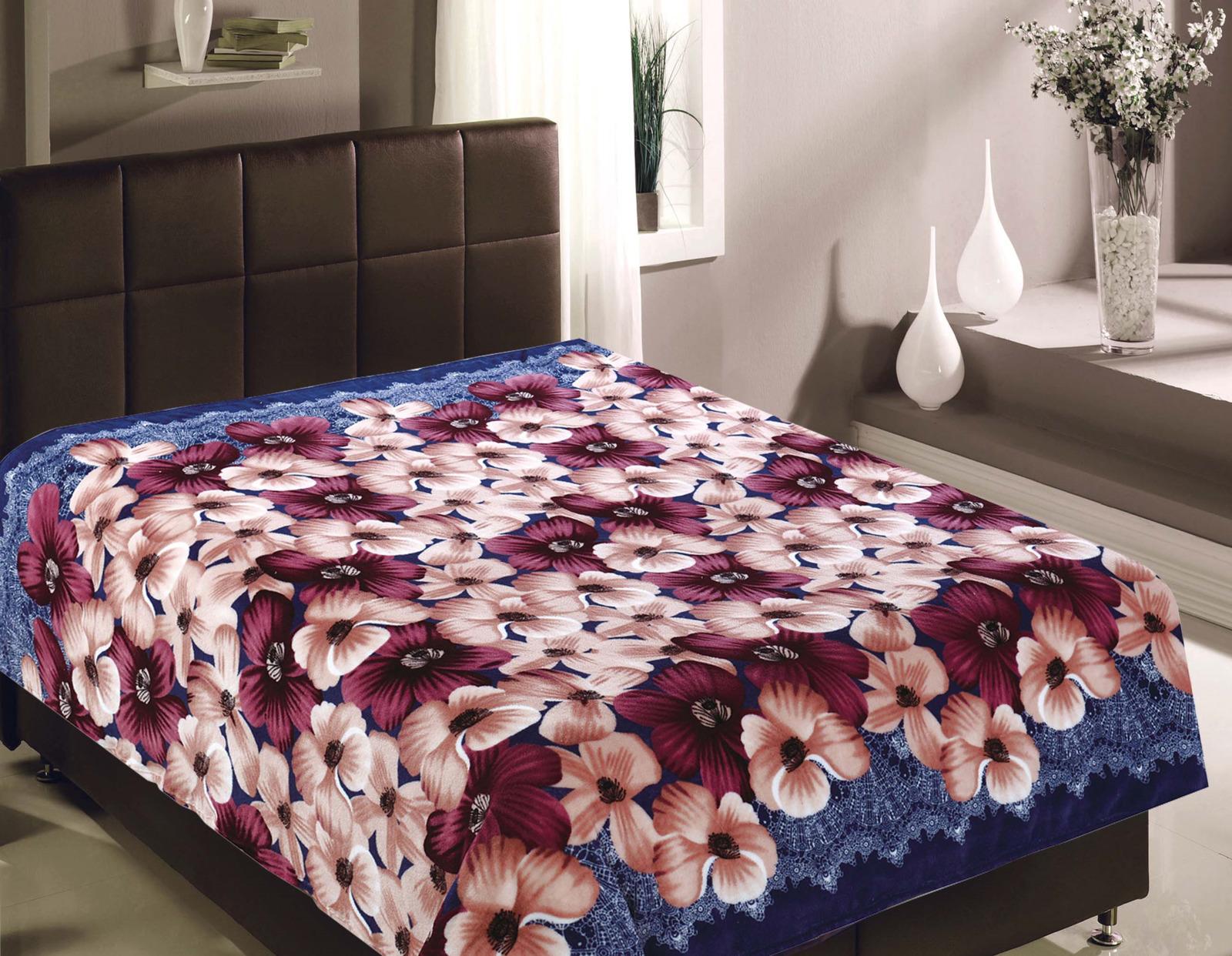 Плед TexRepublic Absolute Flannel, 5205, синий, коричневый, 150 х 200 см пледы hongda textile махровое чудо коричневый широкая полоса