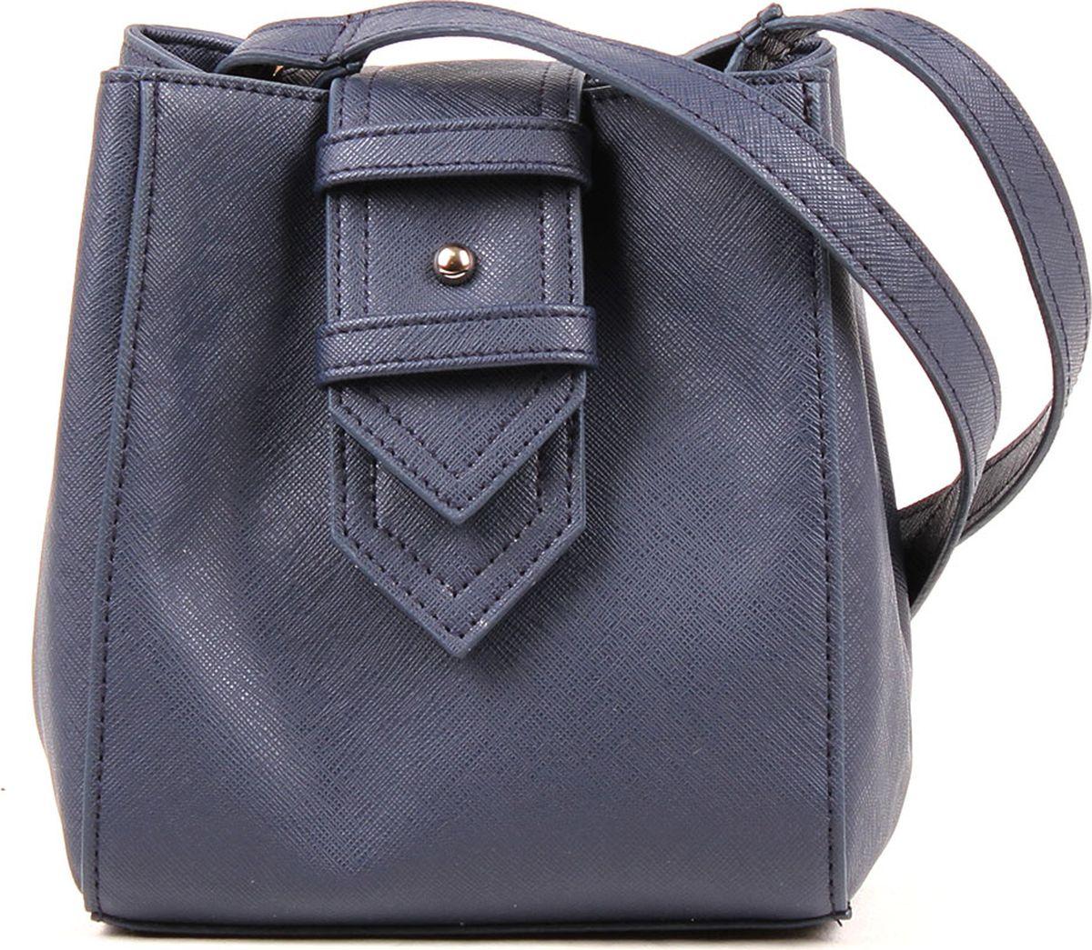 Сумка женская Медведково, 19с0097-к14, темно-синий сумка шоппер женская медведково цвет темно синий 16с3492 к14