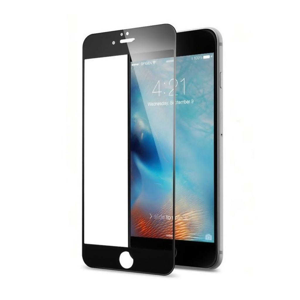Защитное стекло ТЕХПАК 5D для iPhone 6 / 6s, черный