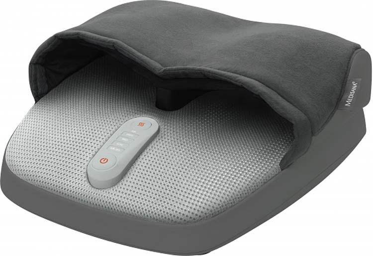 Массажер электрический для ног Medisana FM 885, серый
