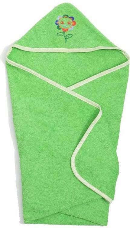Полотенце с капюшоном детское Guten Morgen Солнышко, ПМКс-60-120-Сол, зеленый, 60 x 120 смПМКс-60-120-СолМахровое полотенце с капюшоном - прекрасный выбор для вашего малыша. Текстура ткани настолько приятна на ощупь, что вашему ребенку будет комфортно и тепло. Махровая ткань из 100% хлопка не вызывает раздражения и подойдет к самой чувствительной и нежной коже малыша. Полотенце прекрасно впитывает влагу и быстро сохнет. Оригинальным дополнением является уникальная вышивка в виде забавных животных.
