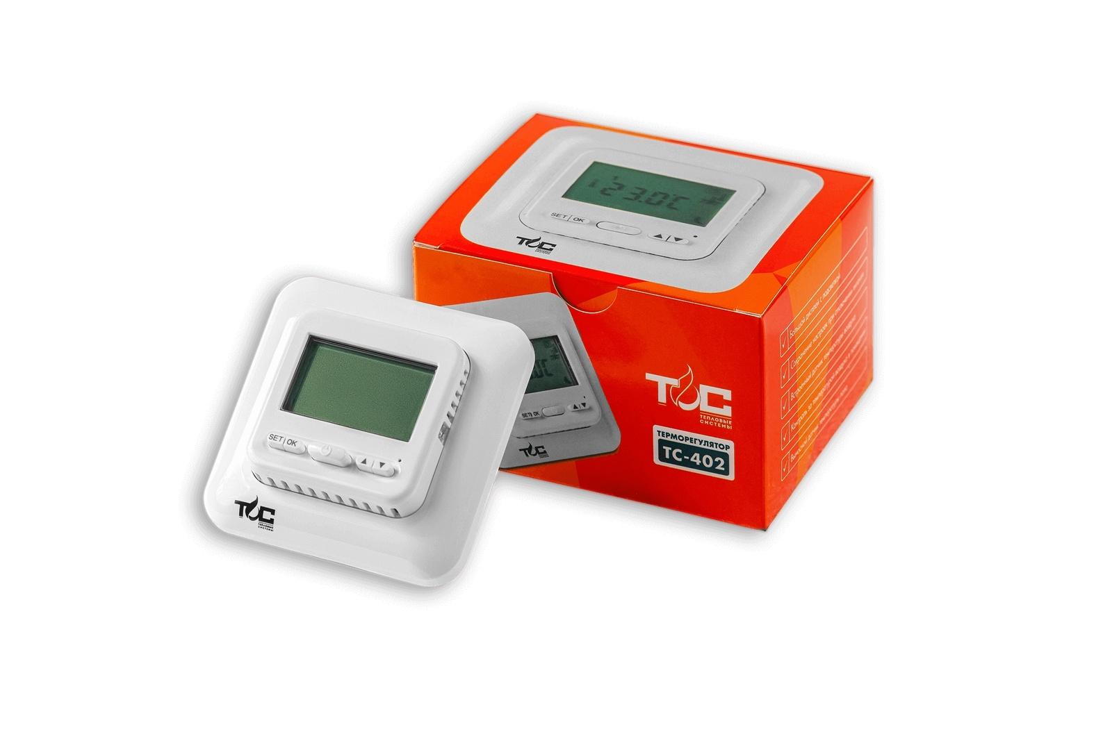 Терморегулятор теплого пола Теплый пол №1 ТС 402, ТС 402 цена