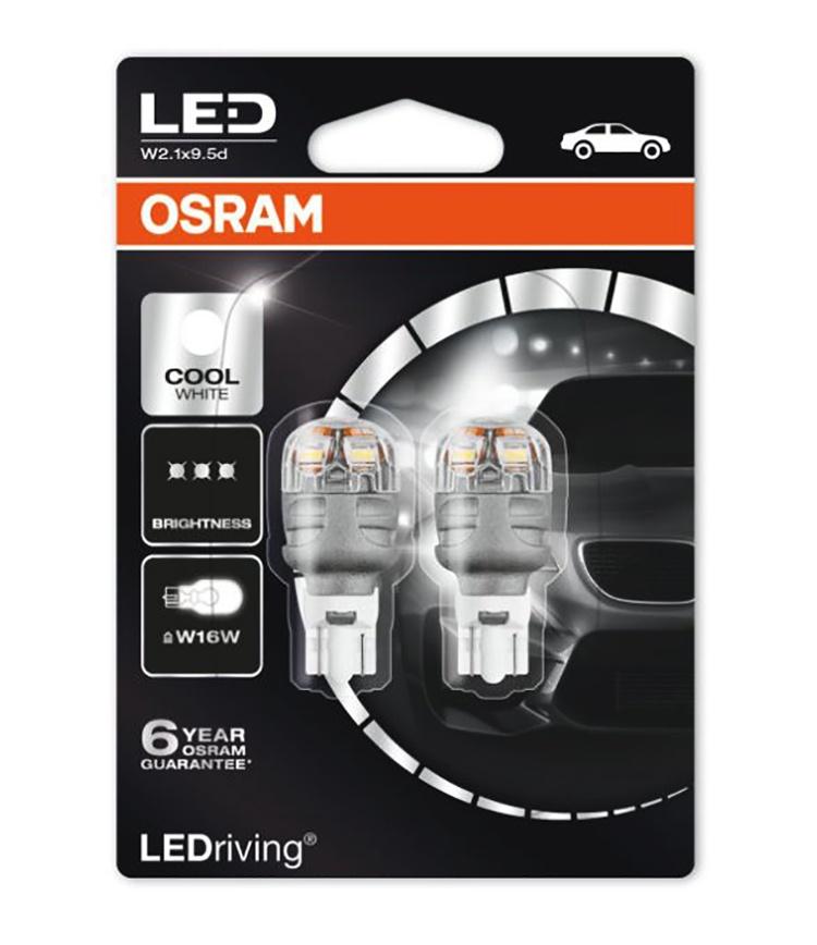 Лампа автомобильная Osram 9213CW-02B 3 Вт, Светодиодная светодиодные лампы osram для автомобиля