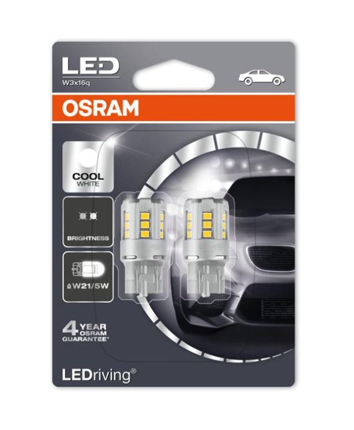 Лампа автомобильная Osram 7716CW-02B 1,7 Вт, Светодиодная светодиодные лампы osram для автомобиля