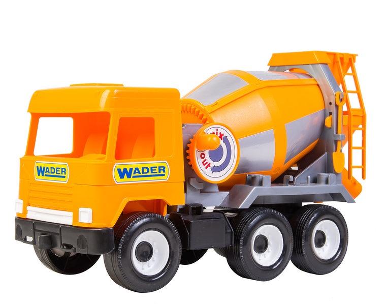 Фото - Спецтехника Wader Middle truck бетоносмеситель, 184-39311 желтый бетономешалка wader super truck разноцветный 58 5 см 36590