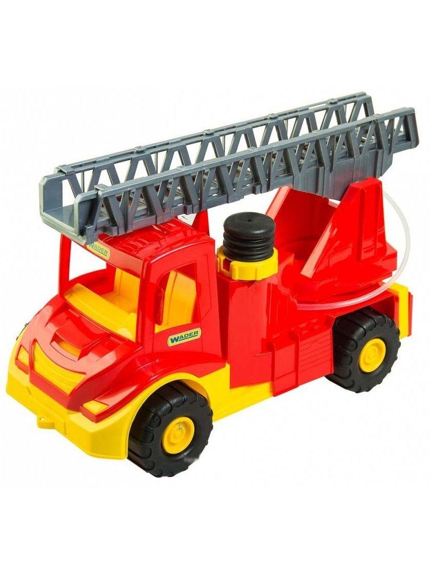 Фото - Спецтехника Wader Multi Truck пожарка, 184-39218 красный бетономешалка wader super truck разноцветный 58 5 см 36590
