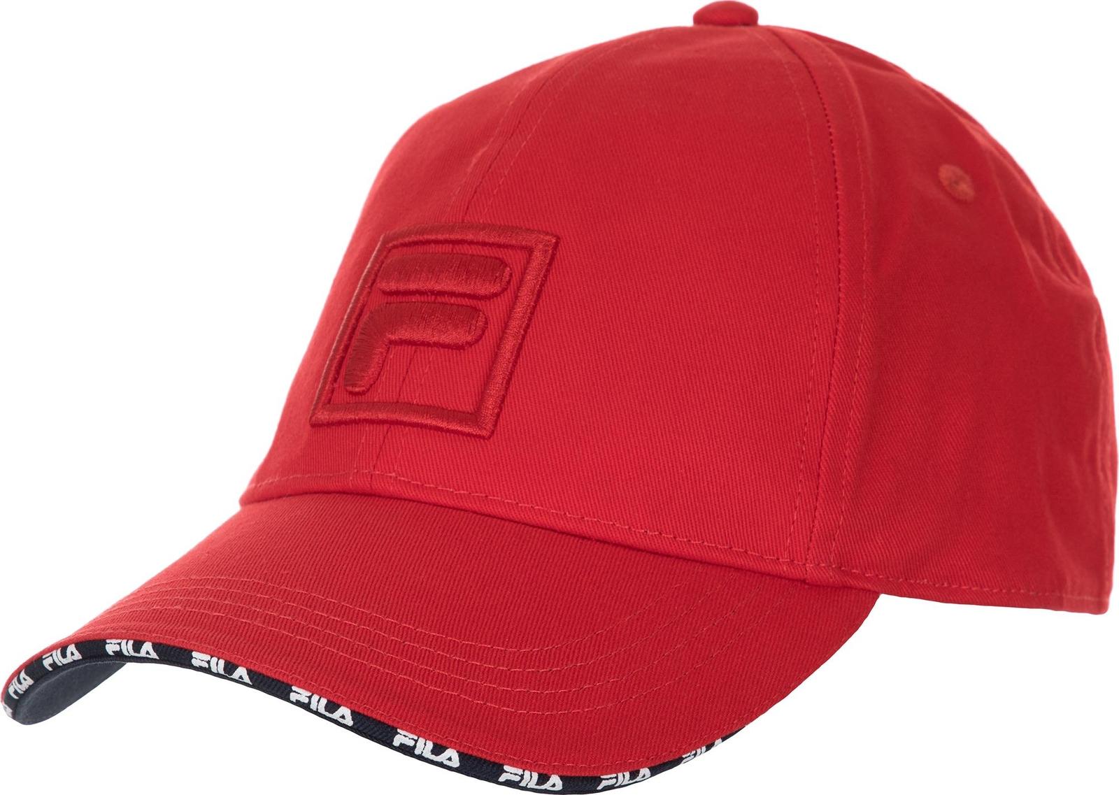Бейсболка Fila бейсболка puma sf ls baseball cap цвет темно оливковый 02177602 размер универсальный