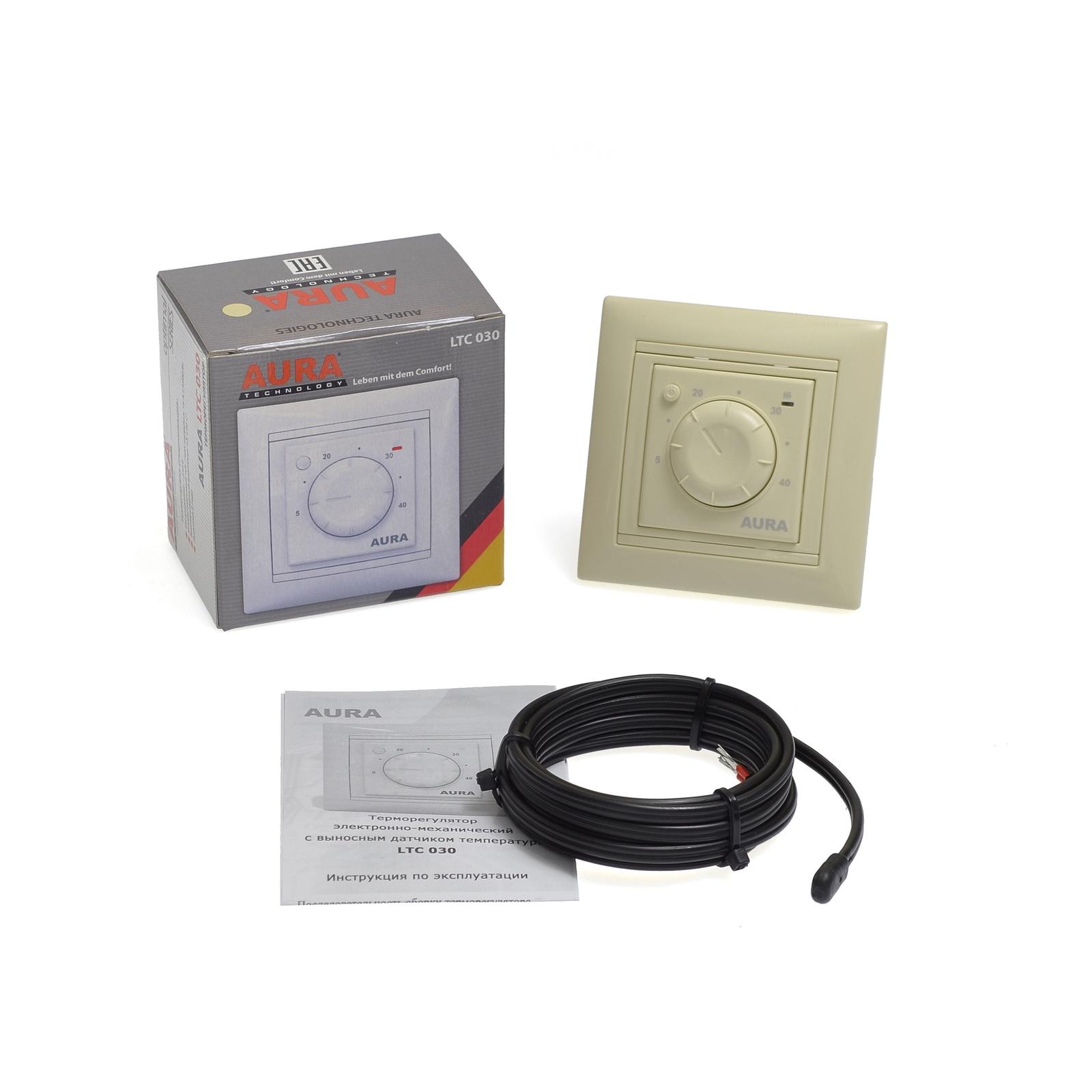 Фото - Регулятор температуры электронный AURA LTC 030 крем терморегулятор aura ltc 530 white