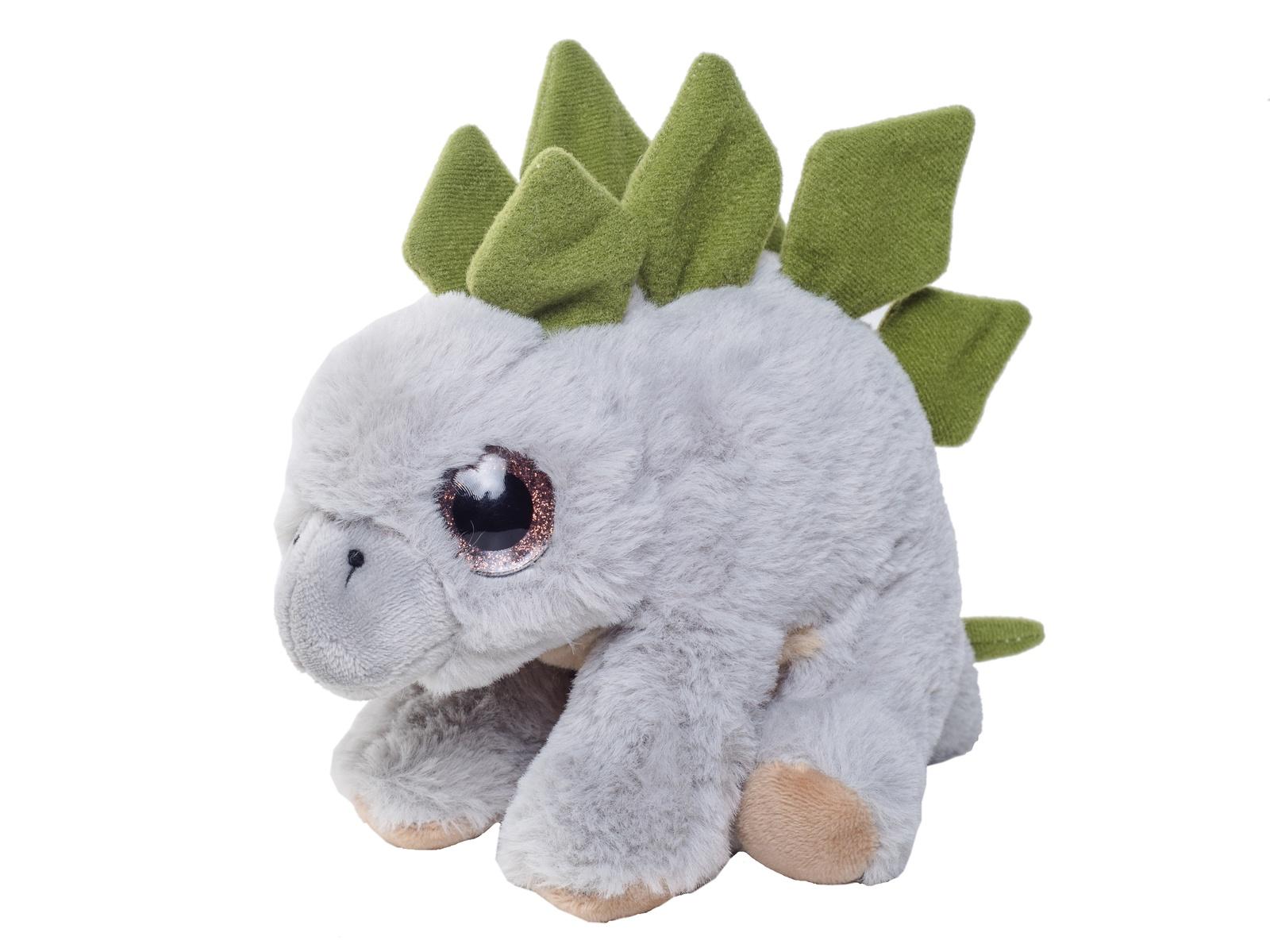 Мягкая игрушка Плюш Ленд Мягкая игрушка Стегозавр, FX-1070B серый игрушка мягкая динозавр плюшевый 3 цвета 28 см