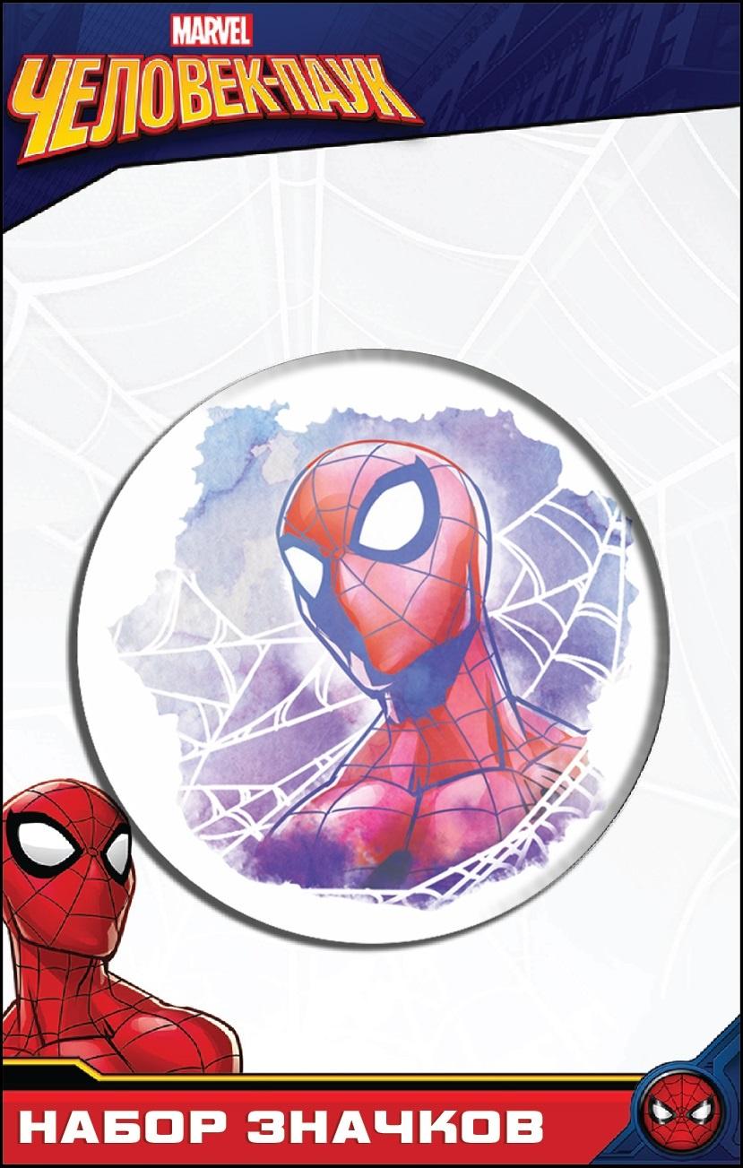 Набор значков Disney Марвел Человек Паук 1, 4627130658473 цена