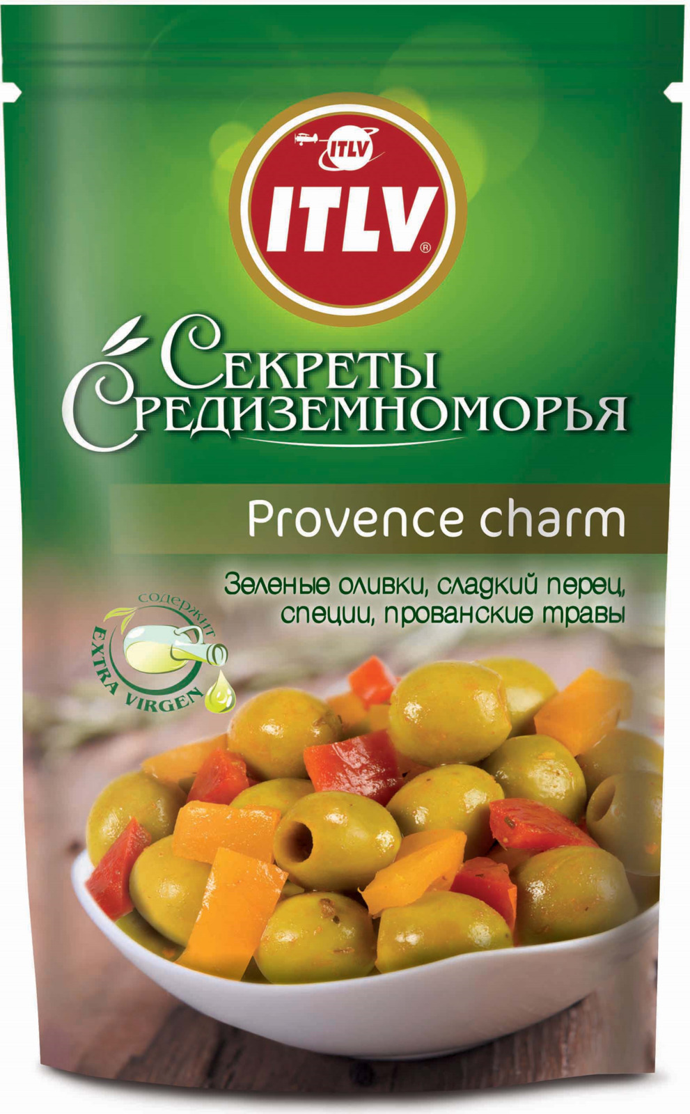 Ассорти оливок и маслин ITLV Provence Charm, 350 г