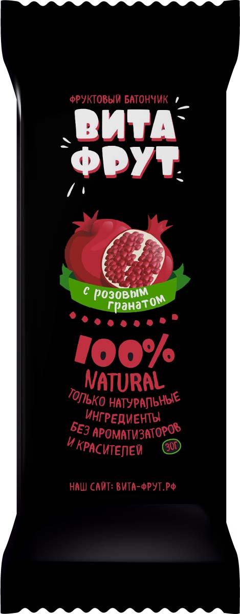 Батончик фруктовый Витафрут с гранатом, 30 г батончик фруктовый витафрут с гранатом 30 г