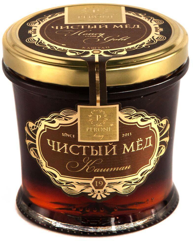 Мед чистый Peroni Honey Каштан, 290 г