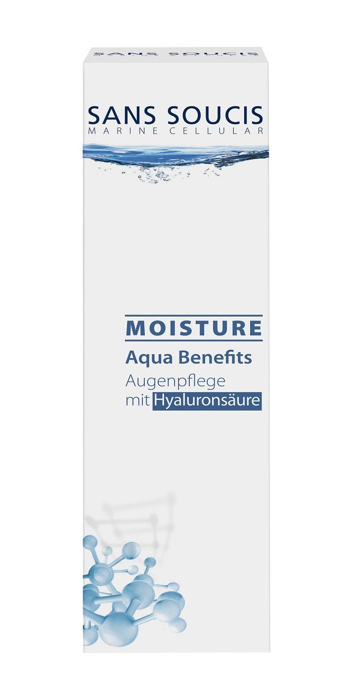 Крем для ухода за кожей Sans Soucis «MOISTURE AQUA BENEFITS» для глаз, 30 Sans Soucis