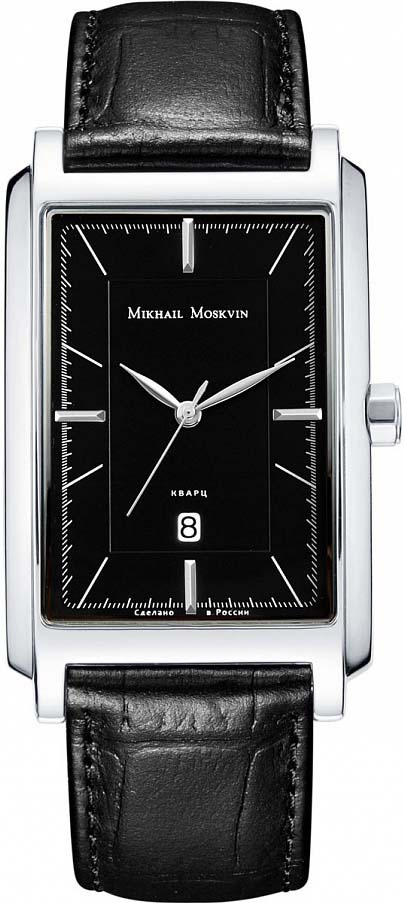 Часы Mikhail Moskvin мужские серебристый все цены