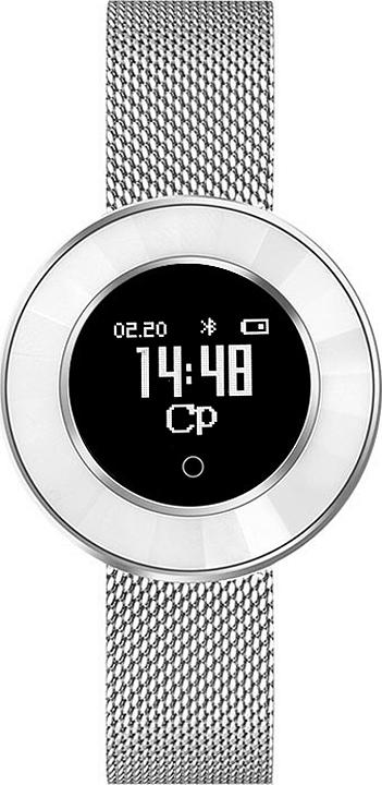 Умные часы Krez Tango, серебристый цена и фото