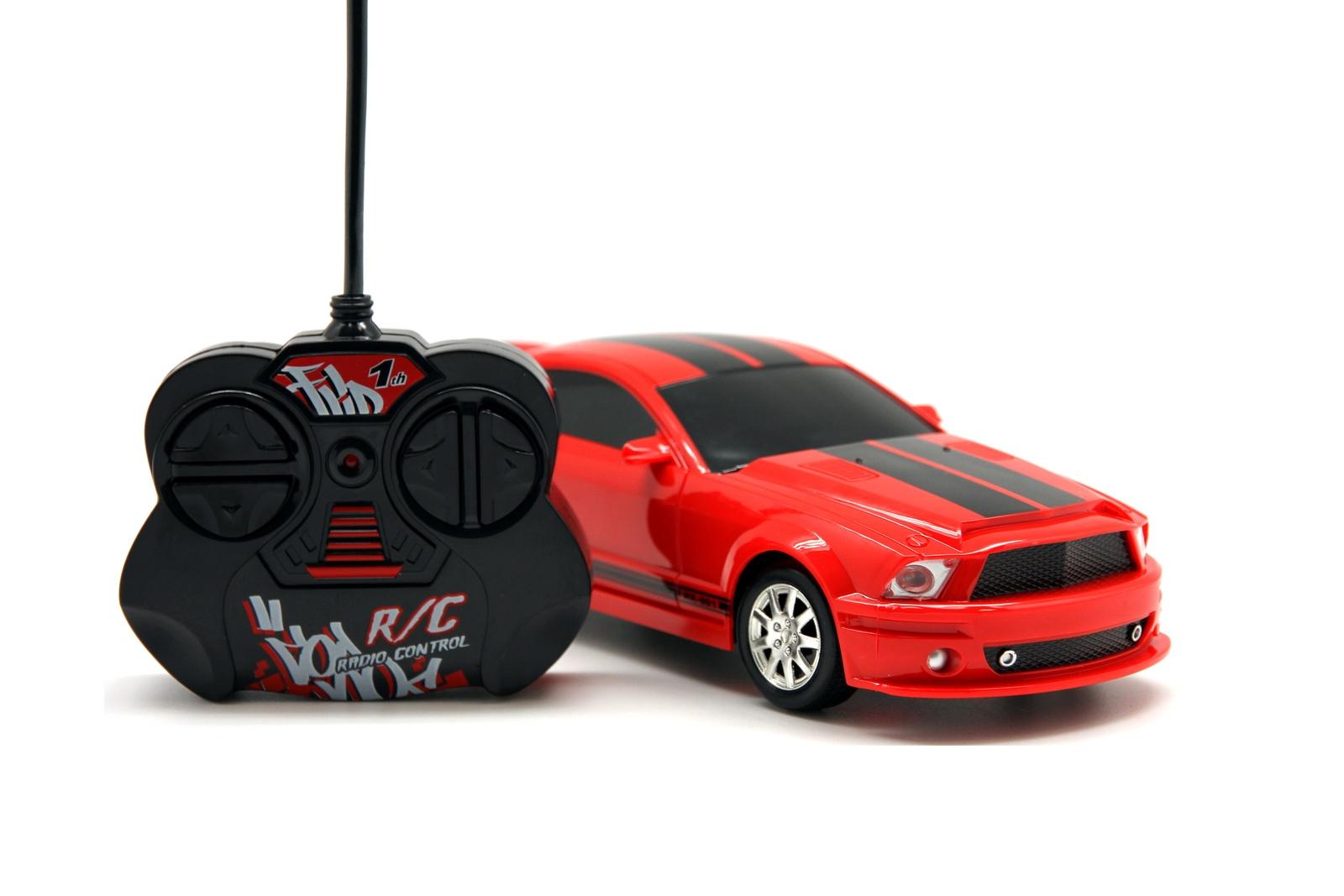Машинка радиоуправляемая Balbi RCS-2001B, A0G1081633 красный, черный автомобиль balbi автомобиль черный от 5 лет пластик металл rcs 2401 a