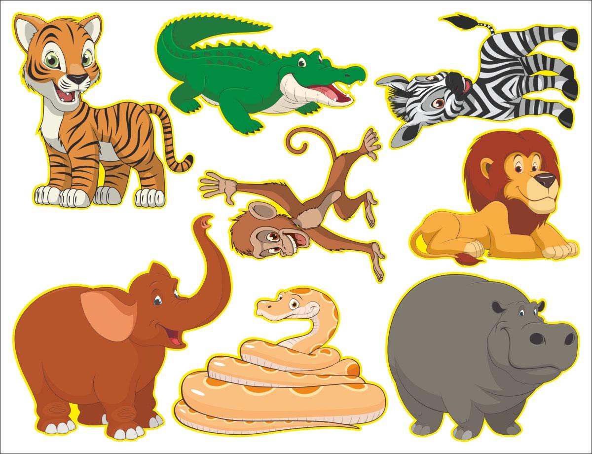 Животные африки для детей картинка