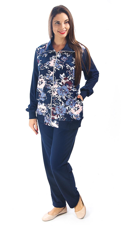 Фото - Костюм Алтекс [супермаркет] jingdong новый мир семьи пижамы 2017 весной новый женский с длинными рукавами хлопок случайных костюм костюм xb57091 беж