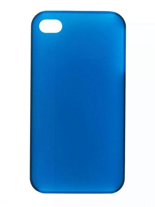 Чехол для сотового телефона IQ Format iPhone4 Softtouch, 6225813152770, синий цена и фото
