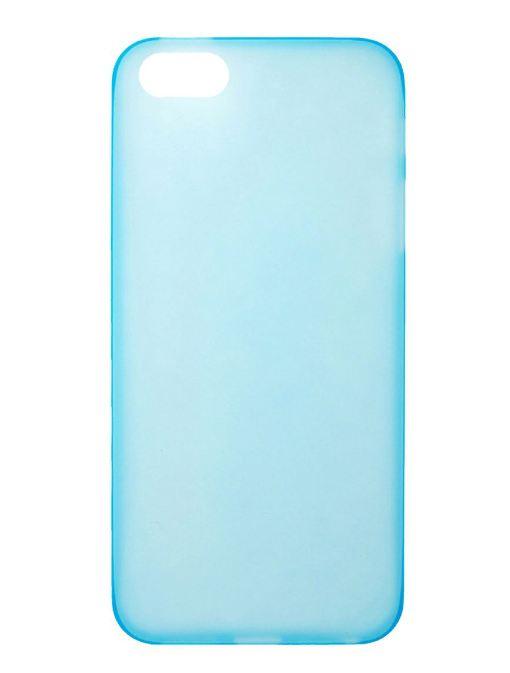 Чехол для сотового телефона IQ Format iPhone5 сверхтонкая, 4627087551247, голубой цена и фото