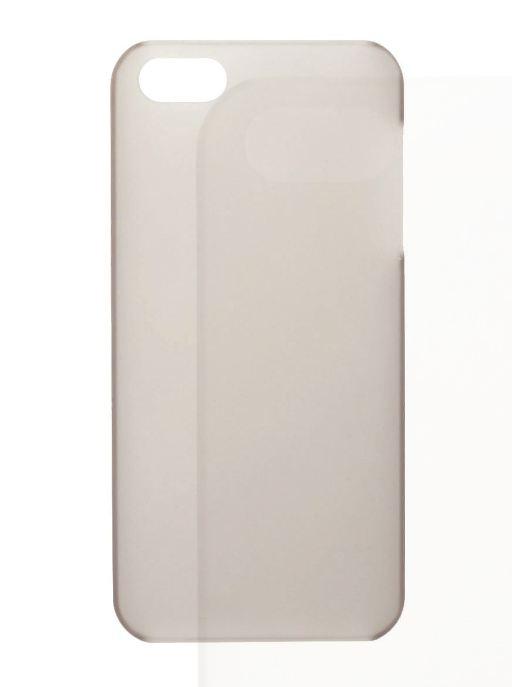 Чехол для сотового телефона IQ Format iPhone5 Softtouch, 6225813152775, серый цена и фото