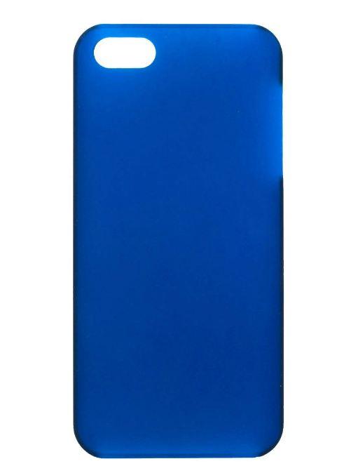 Чехол для сотового телефона IQ Format iPhone5 Softtouch, 6225813152776, синий стоимость