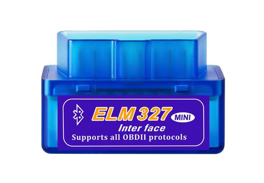 Тестер автомобильный Quantoom ELM327 Bluetooth Mini OBDII адаптер ver. 2.1 icar obdii elm327 bluetooth car diagnostic tool black white