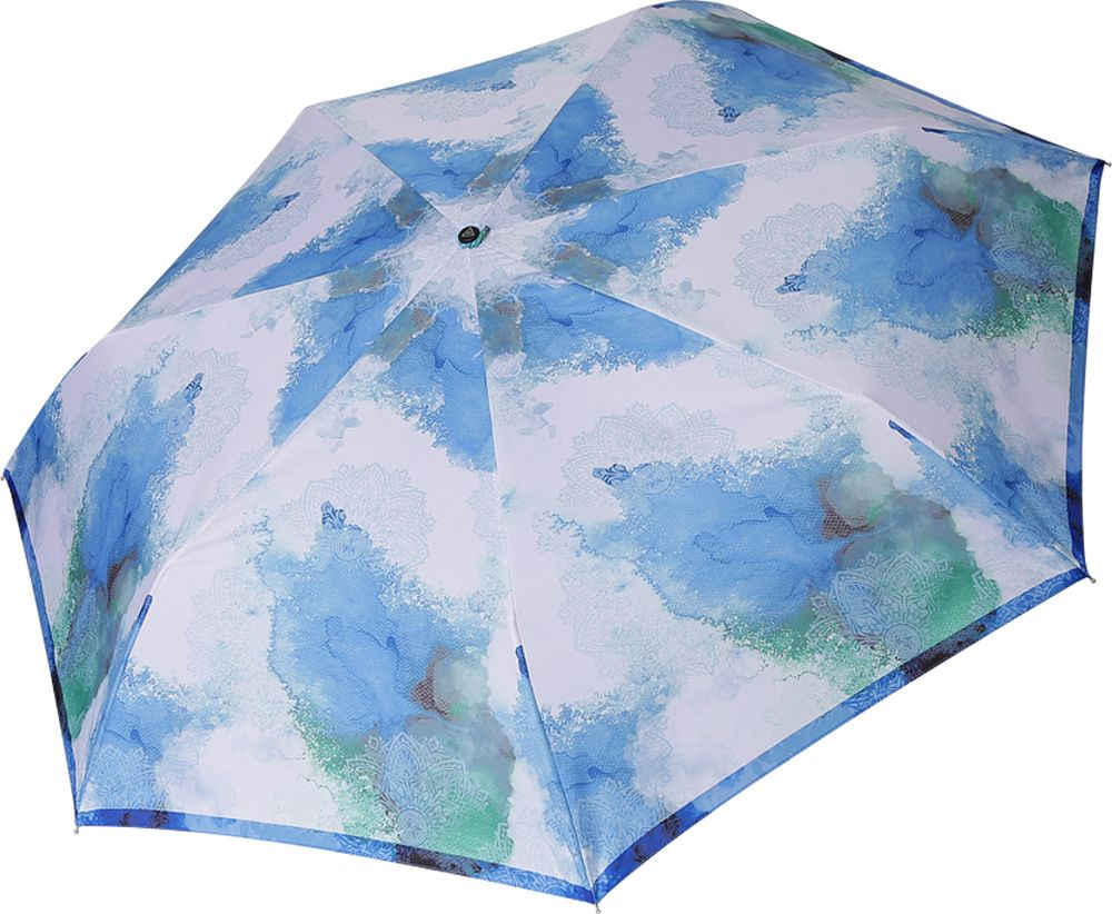Зонт женский Fabretti, P-19105-2, голубой пике женский mk2573 03 голубой