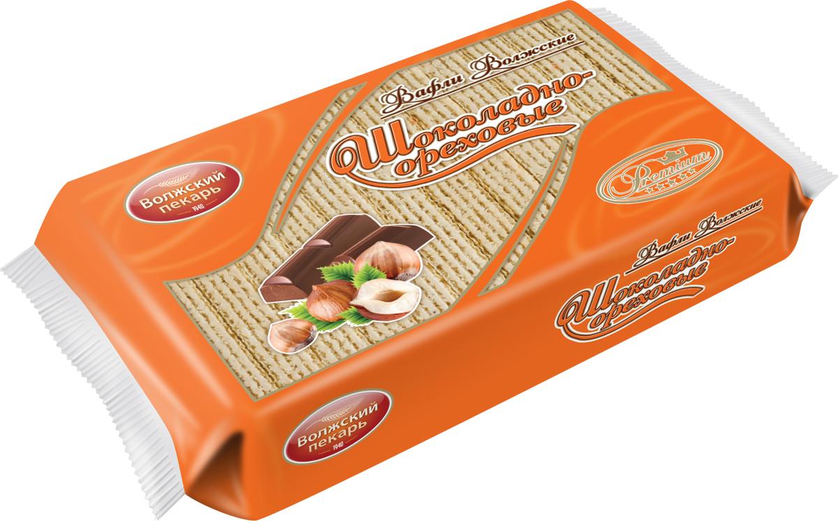 цена на Вафли Волжский пекарь шоколадно-ореховые, 220 г