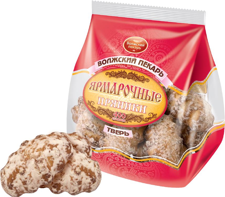 цена на Пряники Волжский пекарь Ярмарочные, 400 г