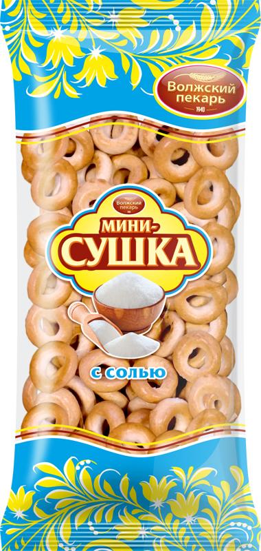 Сушки Волжский пекарь с солью, 180 г