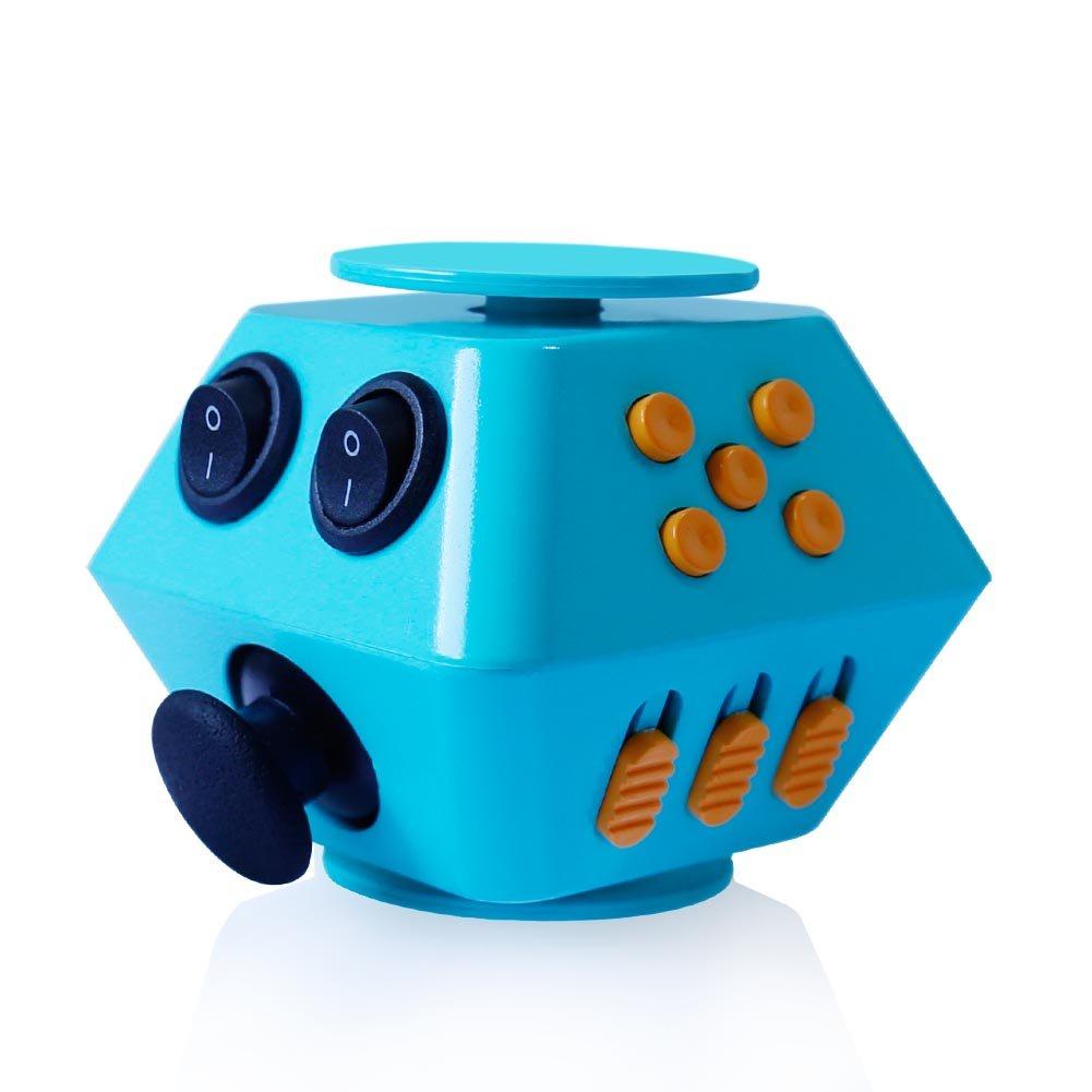 Интерактивная игрушка Boom Spinner Boom Spinner Cube, BoomSpinnerCube/blue_orange голубой цена 2017