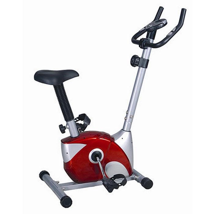 Велотренажер Sport Elite SE-300, красный, серебристый