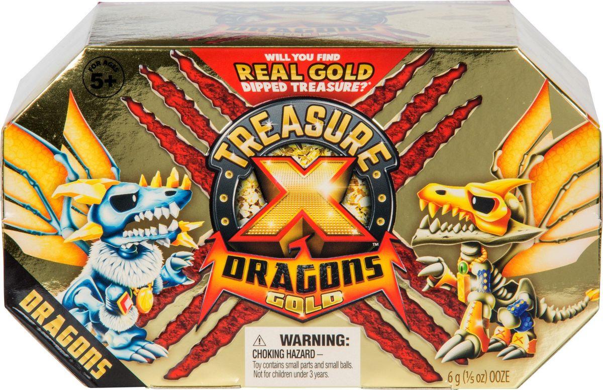 Игровой набор Treasure X Золото драконов Дракон + сокровище, 41508 фигурки героев мультфильмов moose treasure x золото драконов 41507