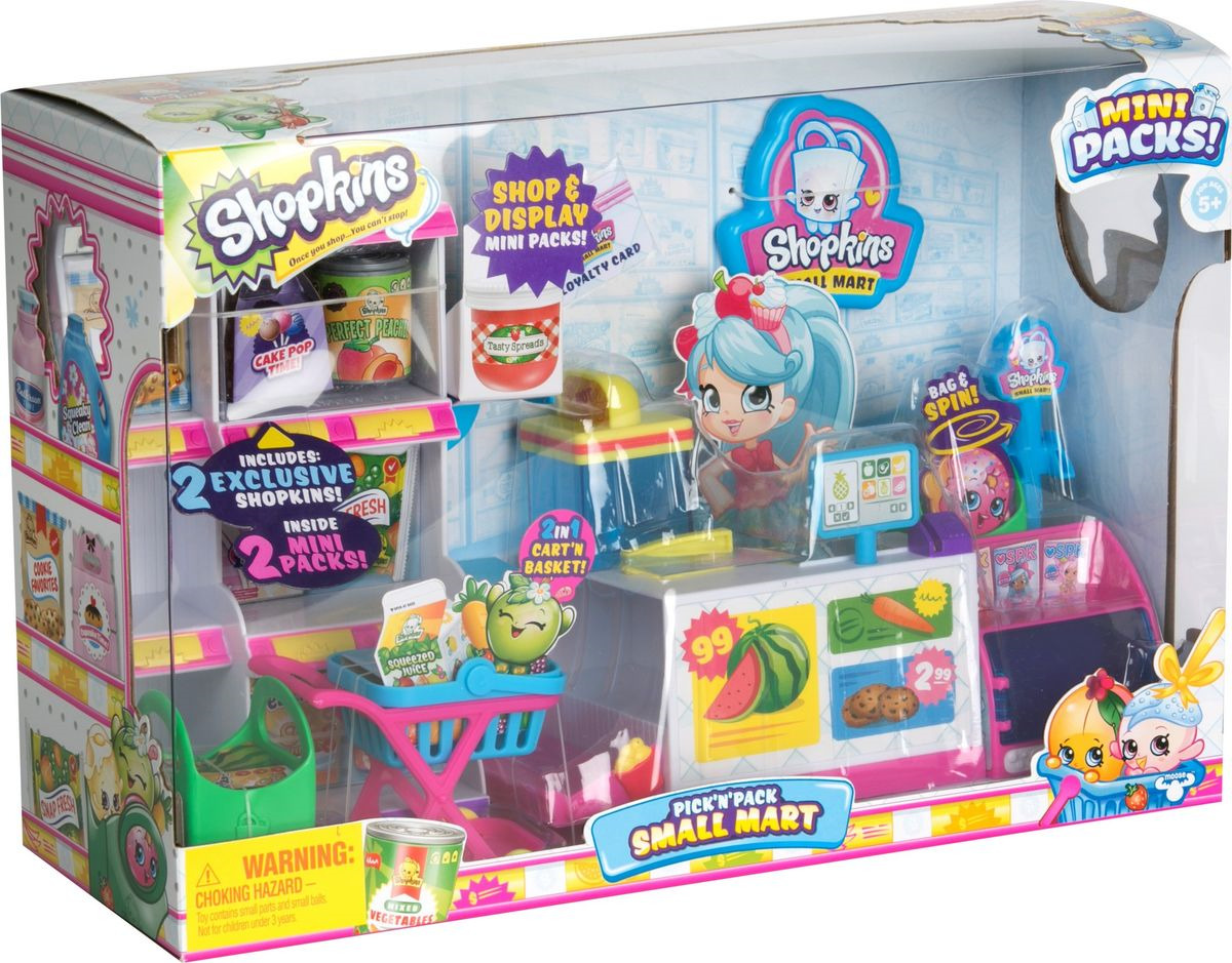 Игровой набор Shopkins Минимаркет, 56753