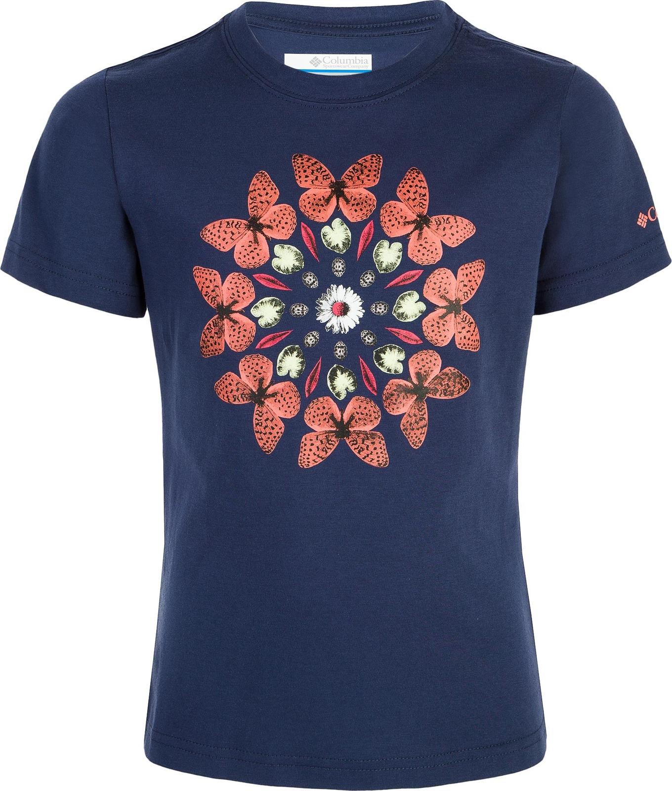 Футболка Columbia Wild Sky Short Sleeve Shirt roll tab sleeve shirt dress