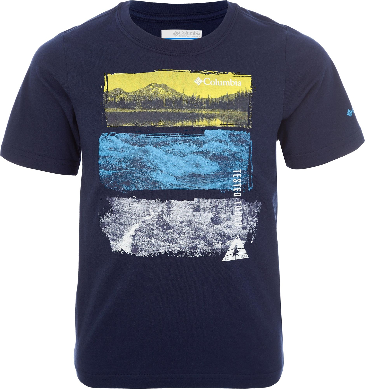 Футболка Columbia Camp Champ Short Sleeve Shirt roll tab sleeve shirt dress