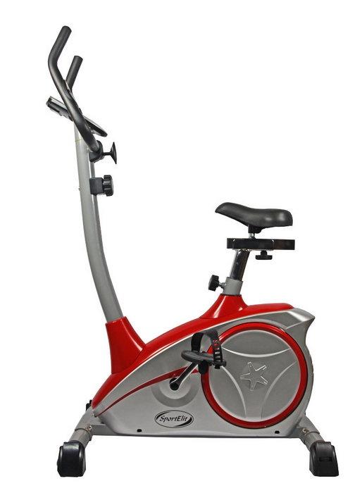 Велотренажер  Sport Elit SE-601, SE-601, красный, серебристый