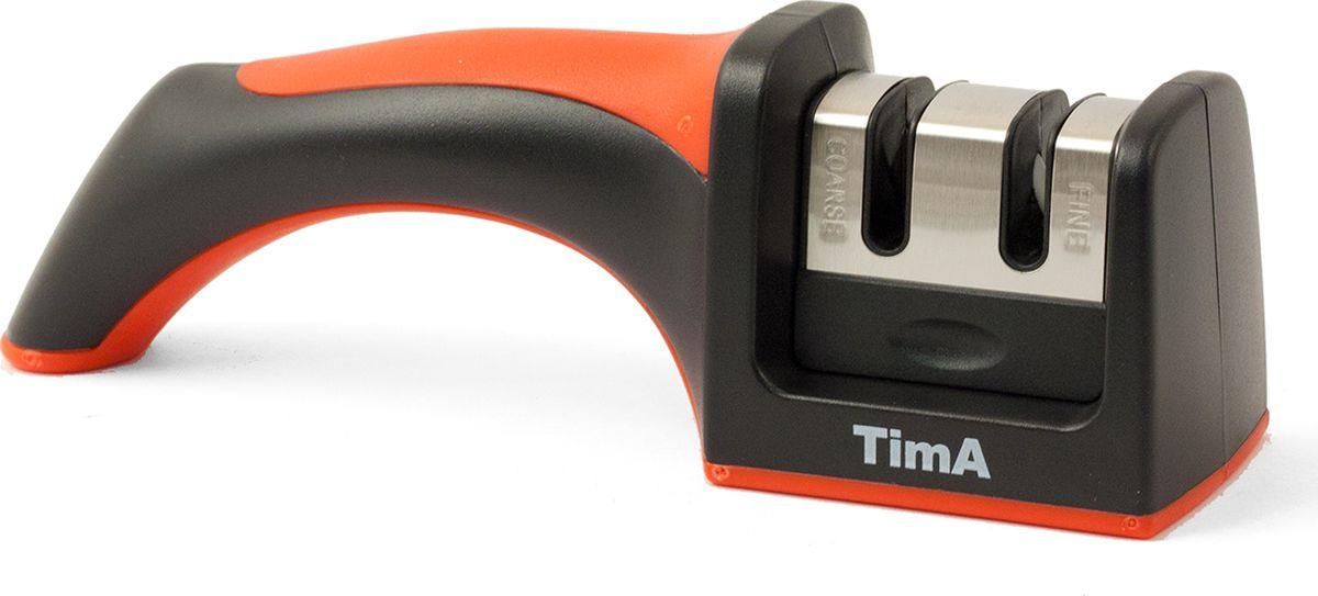 Ножеточка TimA, ТМК-004, металл, керамика, красный точилка tima tmk 001