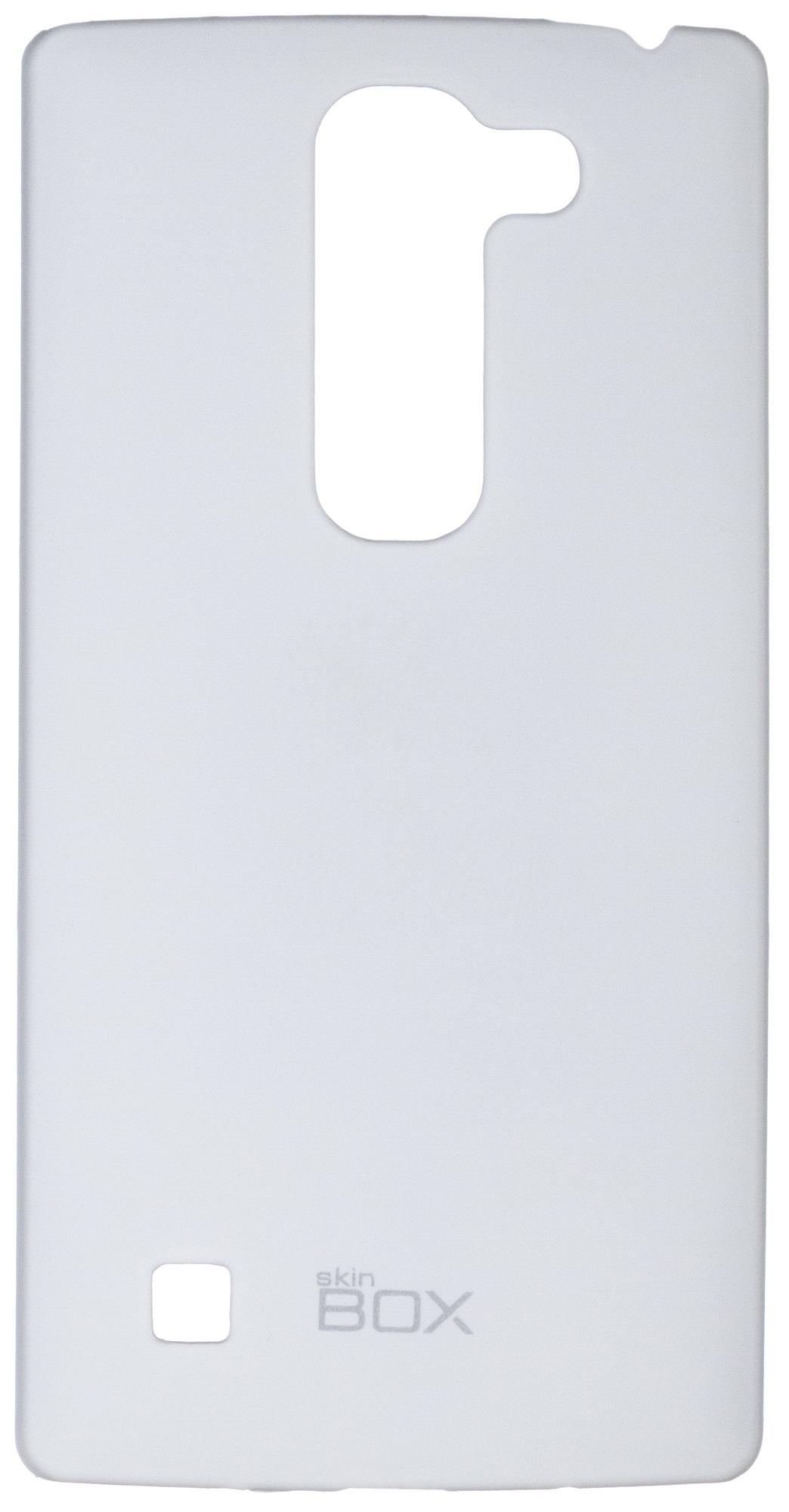Чехол для сотового телефона skinBOX 4People, 4660041406818, белый чехол защитный skinbox lg magna