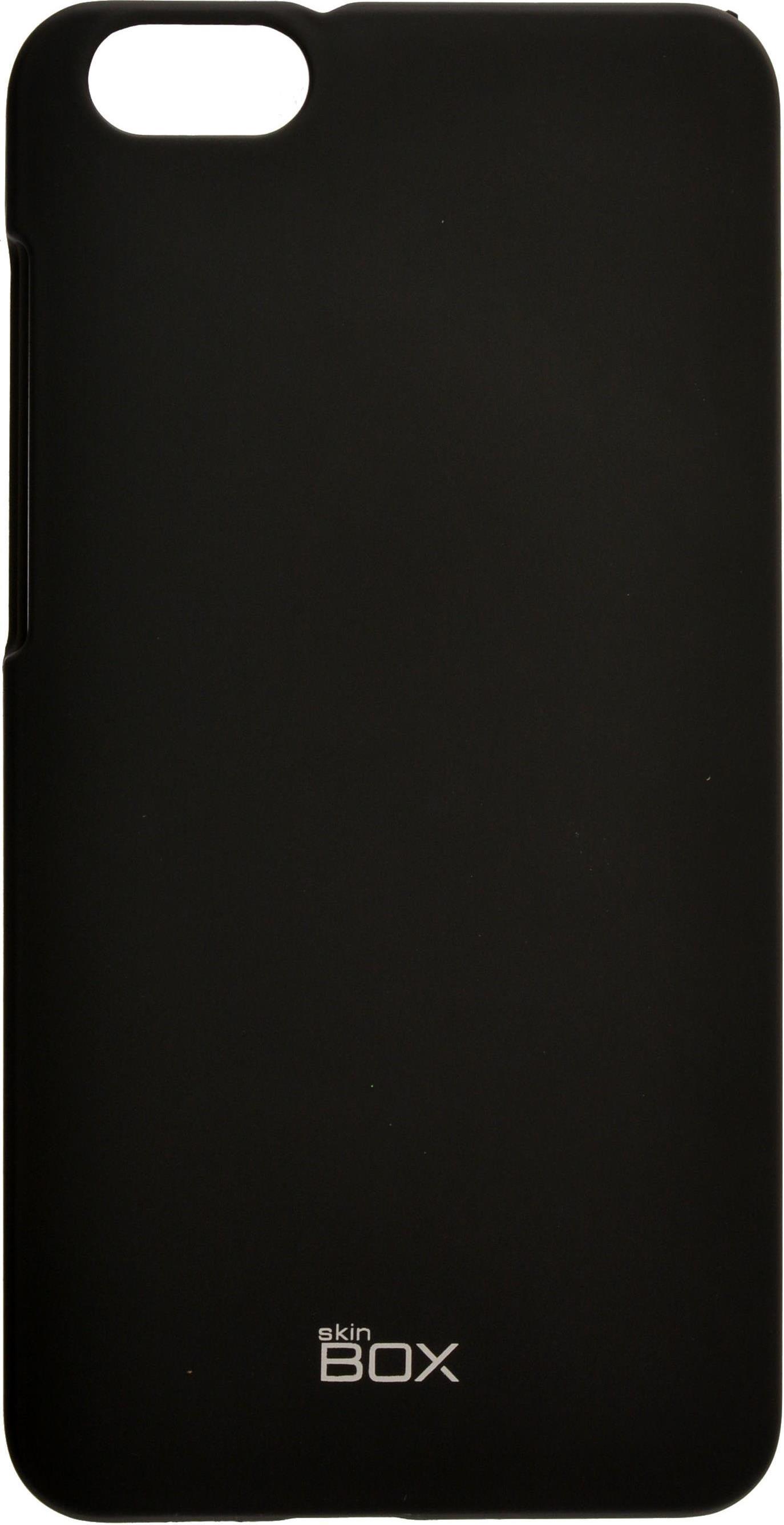 Чехол для сотового телефона skinBOX 4People, 4660041406849, черный цена 2017