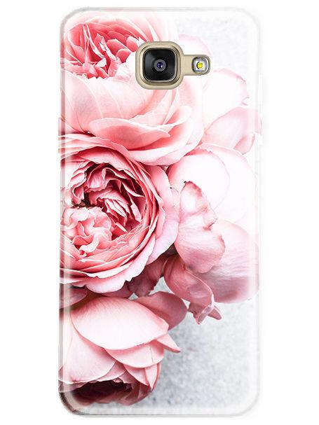 Чехол для сотового телефона UVOO Art design для Samsung Galaxy A5 (2016), прозрачный