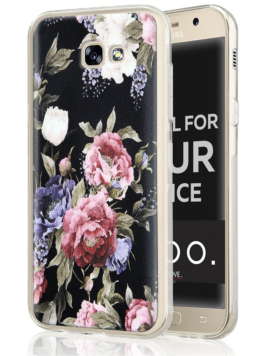 """Чехол для сотового телефона UVOO """"Art design"""" для Samsung Galaxy A3 (2017)"""