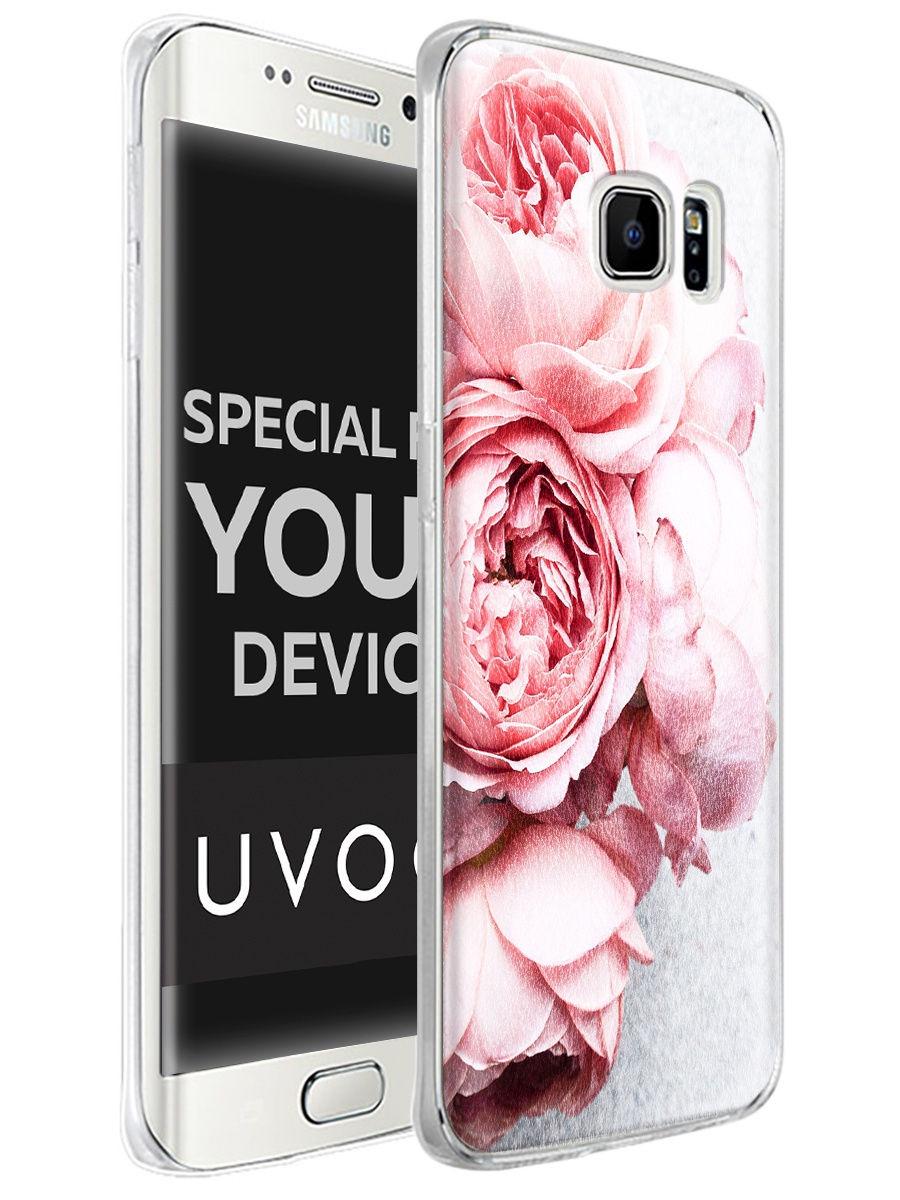 """Чехол для сотового телефона UVOO """"Art design"""" для Samsung Galaxy S7"""