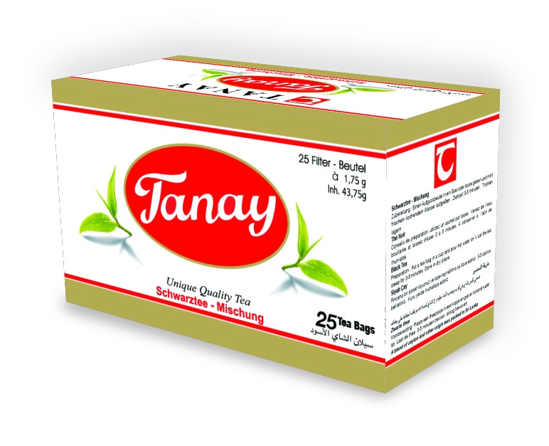 Чай в пакетиках Танай T25 беседа черный чай в пакетиках 24 шт