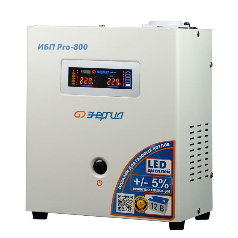 ИБП Энергия ИБП Pro 800 12В, Е0201-0028, белый аккумулятор для ибп энергия акб 12 200 тип agm