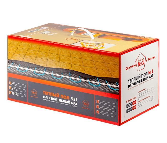 Нагревательный мат Теплый пол №1 Двухжильный, ТСП-900-6,0 тёплый пол нагревательный мат devi 450 вт 3 м2